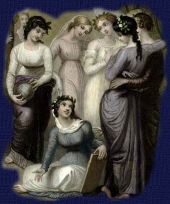 Muse Calliope and Sister Muses In Greek mythology, Calliope is the foremost