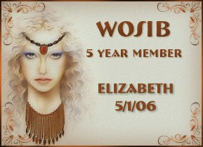 Five Year WOSIB Member